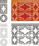 геометрическая решетчатая структура Стоковое фото RF