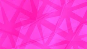 Геометрическая розовая предпосылка картона Стоковая Фотография