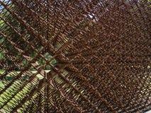 Геометрическая скульптура металла Стоковые Изображения RF
