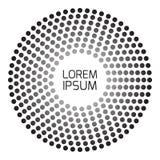 Геометрическая современная картина Стоковые Фото