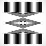 Геометрическая структура вертикальных линий, нашивок Абстрактное monochr Стоковые Изображения