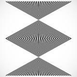 Геометрическая структура вертикальных линий, нашивок Абстрактное monochr иллюстрация штока