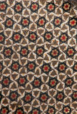 Геометрическая структура khatam. Стоковая Фотография