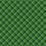 Геометрическая текстура вектора: предпосылка зеленых квадратов аранжированных раскосно Стоковая Фотография RF