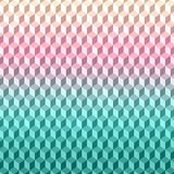 Геометрическая текстура предпосылки картина вектора 3D Стоковые Фото