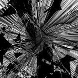 Геометрическая текстура с нервным мотивом Разрушенный конспект, грубое Пэт иллюстрация штока