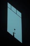 Геометрическая тень Стоковая Фотография RF