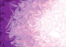 Геометрическая фиолетовая предпосылка пурпурово иллюстрация штока