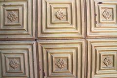 Геометрическая форма плитки, Cabo da Roca, Португалии Стоковые Изображения