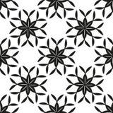 Геометрическая флористическая безшовная предпосылка Стоковые Изображения RF