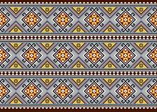 Геометрическая этническая картина стоковые изображения