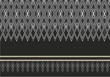 Геометрическая этническая картина Стоковое фото RF