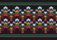 Геометрическая этническая картина стоковое фото