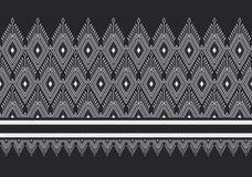 Геометрическая этническая картина Стоковые Фотографии RF