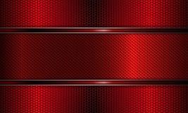Геометрическая яркая розовая предпосылка сетки с силуэтом рамки Стоковые Фотографии RF
