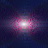 Геометрические голубые светлые круги Иллюстрация штока