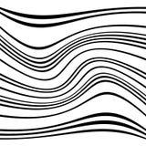 Геометрические линии картина с искажением абстрактный не-figural il Стоковые Изображения