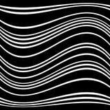 Геометрические линии картина с искажением абстрактный не-figural il Стоковая Фотография RF