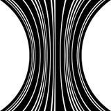 Геометрические линии картина с искажением абстрактный не-figural il Стоковое Изображение RF