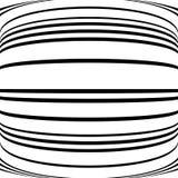 Геометрические линии картина с искажением абстрактный не-figural il Стоковая Фотография