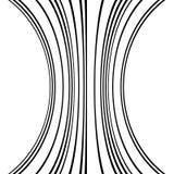 Геометрические линии картина с искажением абстрактный не-figural il Стоковые Изображения RF