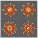 Геометрические круглые формы Стоковое Изображение