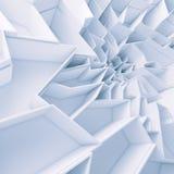 Геометрические обои полигонов конспекта цвета Стоковое Фото