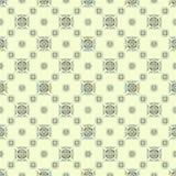 Геометрические объекты на картине светлой предпосылки безшовной Стоковое Изображение