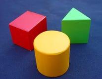 геометрические предметы Стоковое фото RF