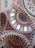 Геометрические решения в мечети Стамбула Стоковое фото RF