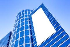 геометрические самомоднейшие небоскребы стоковая фотография rf