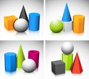 Геометрические формы Стоковое Изображение RF