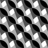 Геометрические черно-белые картина/предпосылка Плавно repea Стоковое Изображение RF