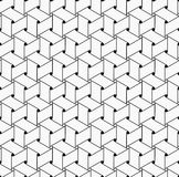 Геометрический безшовный вектор картины Стоковые Фото