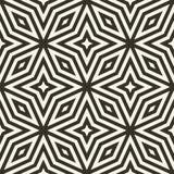 Геометрический безшовный вектор картины Стоковые Изображения
