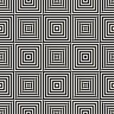 Геометрический безшовный вектор картины Стоковые Фотографии RF