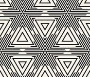 Геометрический безшовный вектор картины Стоковые Изображения RF