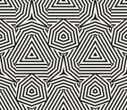 Геометрический безшовный вектор картины Стоковое фото RF