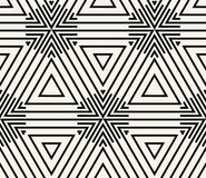 Геометрический безшовный вектор картины Стоковое Изображение