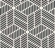 Геометрический безшовный вектор картины Стоковая Фотография RF
