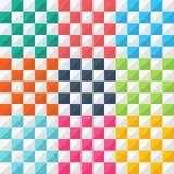 Геометрический вектор картины Стоковое Фото