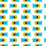 Геометрический глаз лазера Стоковые Фото