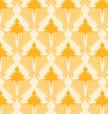 геометрический желтый цвет картины Стоковые Изображения RF