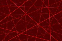 геометрический красный цвет картины иллюстрация штока