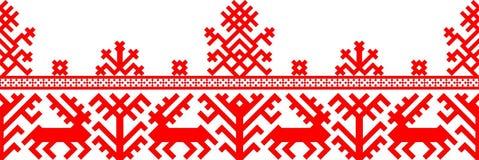 геометрический красный цвет картины Стоковые Фото