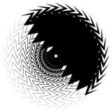 Геометрический элемент круга сделанный перекрывать нервные формы бесплатная иллюстрация