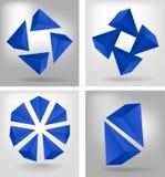 4 геометрических состава иллюстрация штока