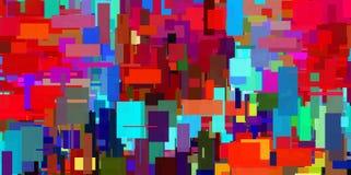 геометрическое абстрактной предпосылки цветастое иллюстрация штока