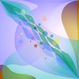 геометрическое абстрактной предпосылки цветастое Стоковая Фотография RF
