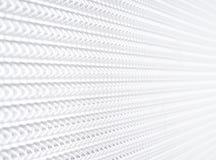 Геометрическое белое будущее предпосылки Стоковые Изображения RF